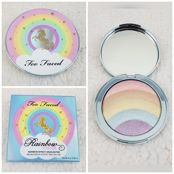 🆕️🦄🌈BNIB Too Faced Unicorn Rainbow Highlighter
